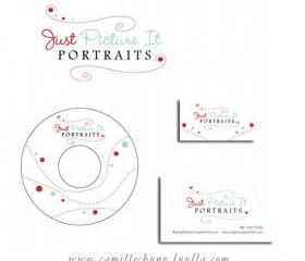Branding for Photographers: Unique Logo Design, with DVD Label, Business Card and Watermark by Camille Chung