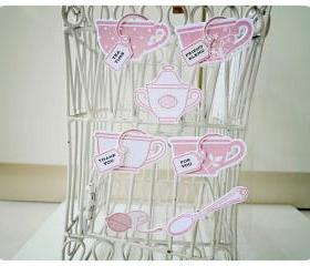 Teacup Embellishment for Scrap booking / card making etc 