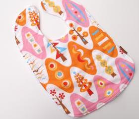 toddler bib butterfly sky baby bib