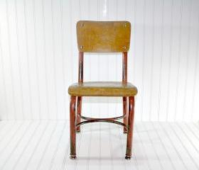 Vintage Child's School Chair