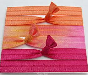 3 Elastic Headbands Tutti Frutti Collection Made by Sweet Petites