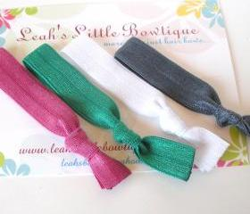 Multicolor Hair Tie Set