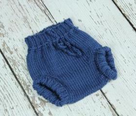 Knitted Wool Soakers(nappy cover)- Size Small