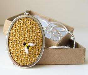 Honeybee Necklace