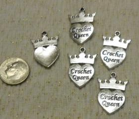 Crochet Queen Charms