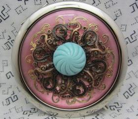 Compact Mirror Pretty Pink