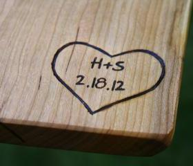 Custom Engraving - Personalization for Cutting Boards