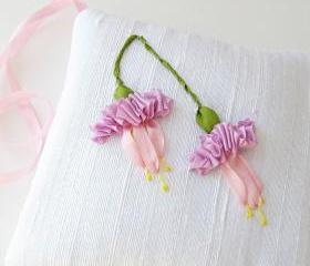 Pink Fuchsias Lavender Sachet 