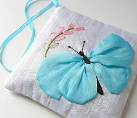 Blue Butterfly Lavender Sachet 