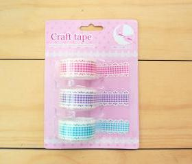 Craft Lace Tape, Check