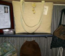 Yellow Chenille Bag