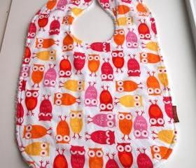 Owl Baby bib Toddler bib girls