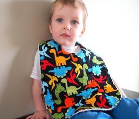 Children baby bib toddler bib dinosaurs anne kelle