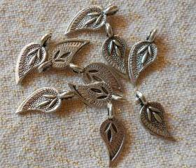 Paisley or Fancy Leaf Charms