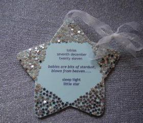 Personalized Star Decoration