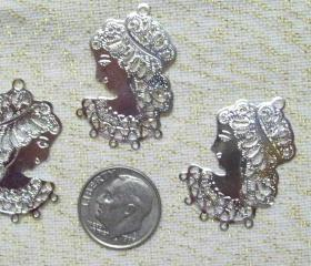 Three Silver Ladies