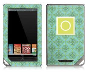 Fleur de Lis eReader Skin - Nook or Kindle