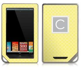 Quatrefoil eReader Skin - Nook or Kindle