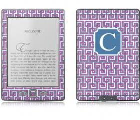 Greek Key eReader Skin - Nook or Kindle