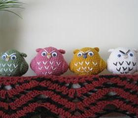 Crochet Owl - CO#1-4 $20/each
