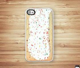 Toaster Pastry iPhone Hard Case fits Iphone 4 and Iphone 4S - White Trim