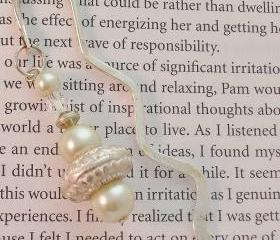 Silver Beaded Bookmark