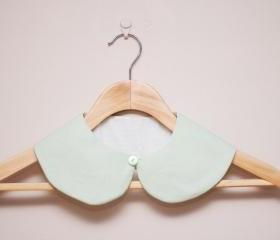 Peter Pan Collar - Detachable Peter Pan Collar in Mint Green