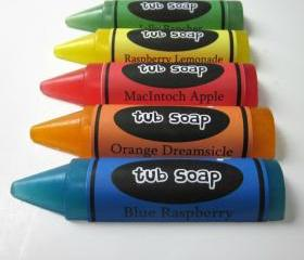 Kids Crayon Tub Soap