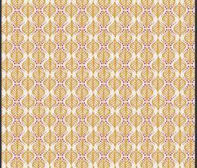 Rhapsodia - Terra Stamps in Gold - by Pat Bravo for Art Gallery Fabrics - 1 Yard