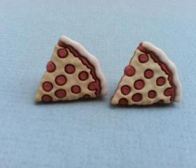 Pizza Pizza Earrings
