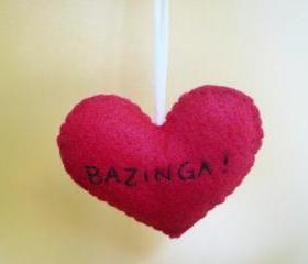 Bazinga Ornament Funny