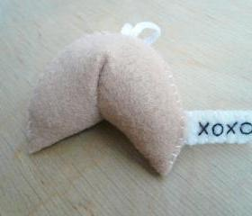 Xoxo Fortune Cookie Ornament