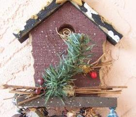 Wood Home Sweet Home Birdhouse