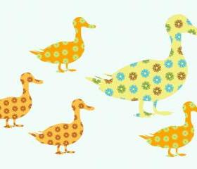 Ducks Wall Decals