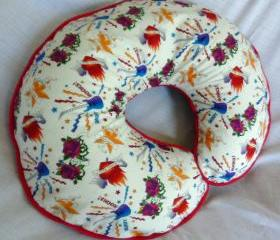 Boppy Pillow Cover White Rock Star Tattoo Nursing Pillow Cover