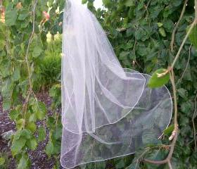 2 Layer Bridal Veil - 31 Inches