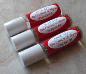 Red Currant & Thyme Perfume Oil