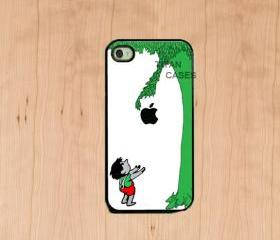 Iphone case - The Giving tree , Iphone 4 case , Iphone 4s case