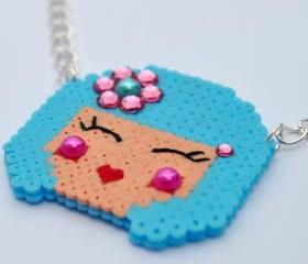 Kokeshi doll Necklace