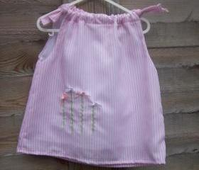 Baby/Toddler girls candy stripe dress