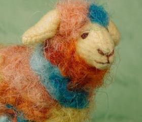 Art Sheep 'Carnival' Hand-dyed wool