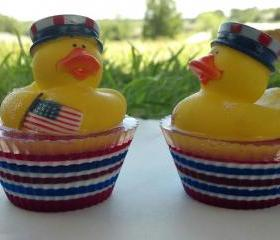 4th of July Ducky Bath Time Soap