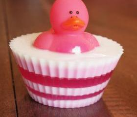 Pink Ducky Glycerin Soap