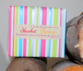 Sherbet Lemon - Handmade Scented Soap