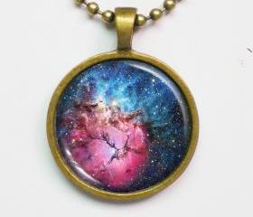 Nebula Necklace - Constellation, Trifid Nebula, M20 - Galaxy Series