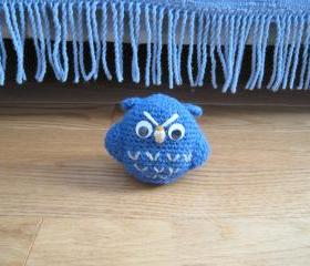 Crochet Owl - Blue - CO5