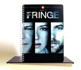 Fringe TV Recycled Notebook Upcycled Journal Spiral Bound
