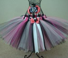 Glam girl tutu and bow