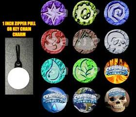 Skylanders Element Set of 12 Zipper Pulls Make Great Party Favors