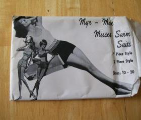 Vintage 1960's Myr -Mae Swim Suit Pattern